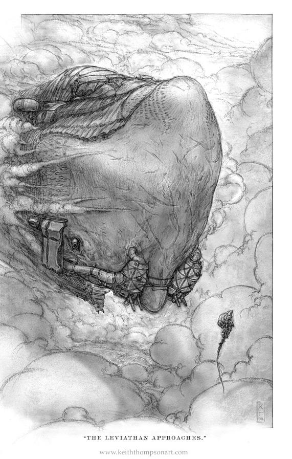 """Кeith Тhompson - рисунки в стиле """"стим"""""""". (Фото 48)"""