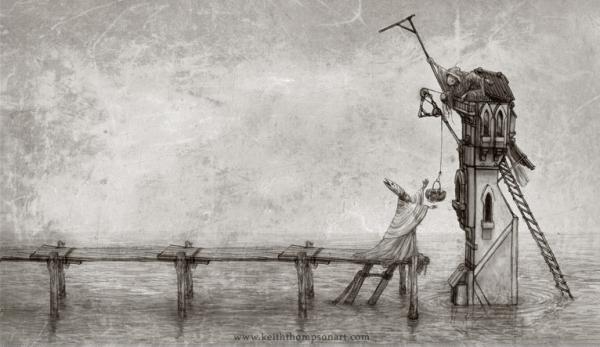 """Кeith Тhompson - рисунки в стиле """"стим"""""""". (Фото 55)"""