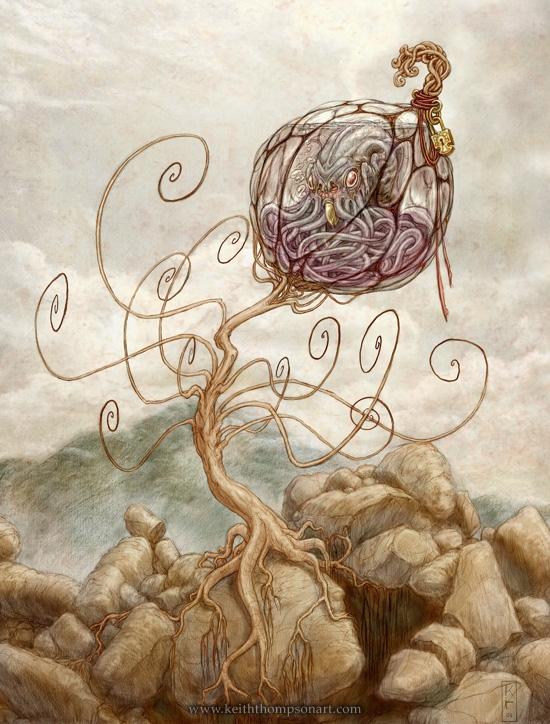 """Кeith Тhompson - рисунки в стиле """"стим"""""""". (Фото 17)"""