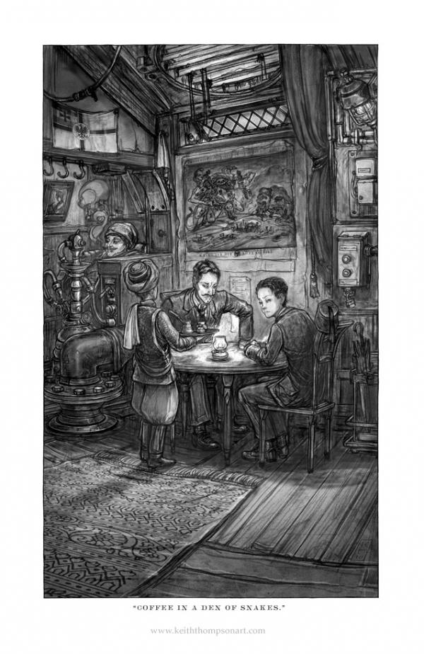 """Кeith Тhompson - рисунки в стиле """"стим"""""""". (Фото 42)"""