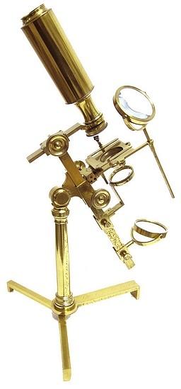 Старинные микроскопы. часть 2. (Фото 8)
