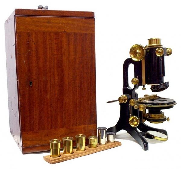 Старинные микроскопы. часть 2. (Фото 25)