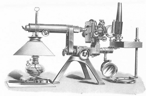 Старинные микроскопы. (Фото 17)