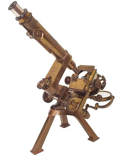 Старинные микроскопы. (Фото 11)