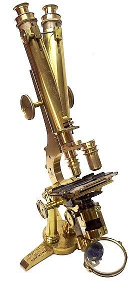 Старинные микроскопы. (Фото 27)