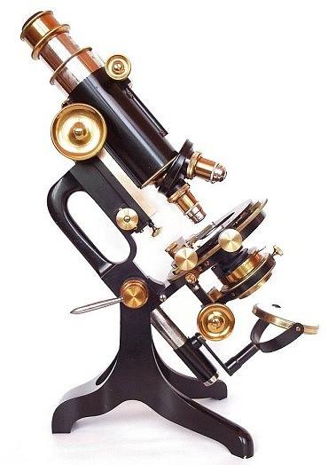 Старинные микроскопы. часть 2. (Фото 21)