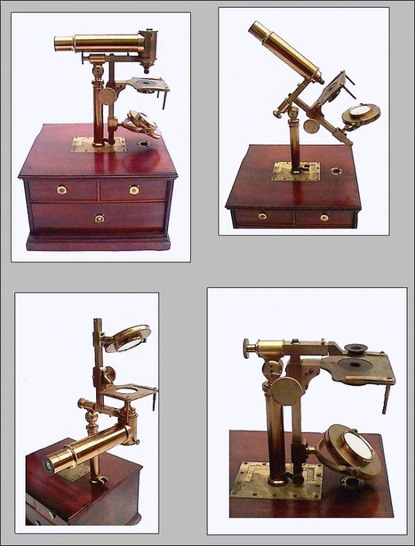 Старинные микроскопы. (Фото 4)