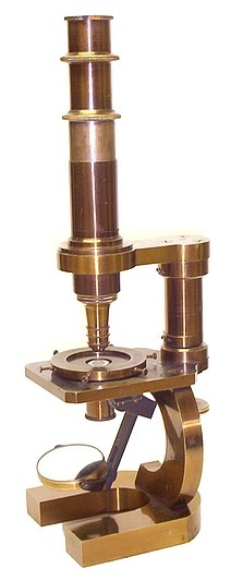 Старинные микроскопы. (Фото 34)