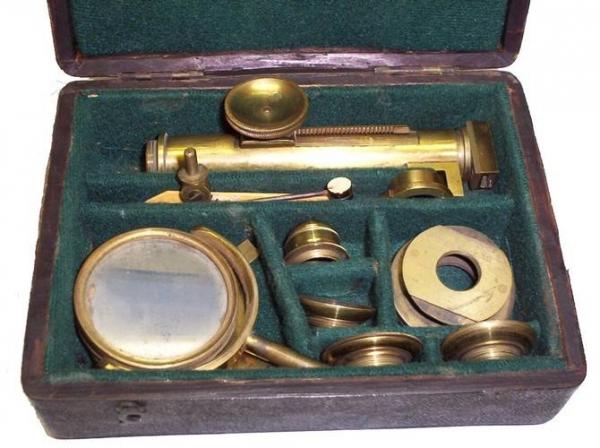 Старинные микроскопы. часть 2. (Фото 52)