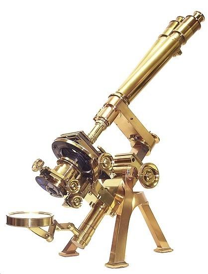 Старинные микроскопы. (Фото 18)