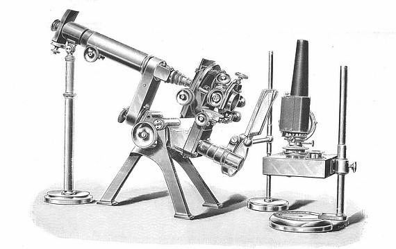 Старинные микроскопы. (Фото 21)