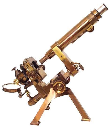 Старинные микроскопы. (Фото 10)