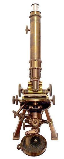 Старинные микроскопы. (Фото 12)