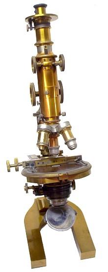 Старинные микроскопы. (Фото 40)