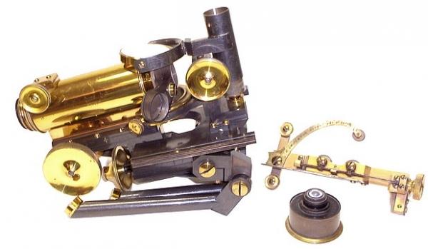 Старинные микроскопы. часть 2. (Фото 30)