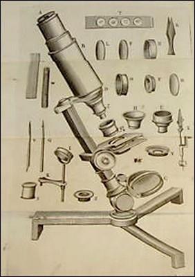 Старинные микроскопы. (Фото 50)