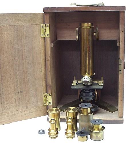 Старинные микроскопы. часть 2. (Фото 3)