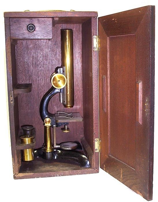 Старинные микроскопы. часть 2. (Фото 7)