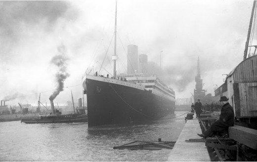 """Фотолетопись строительства """"Титаника"""". (Фото 32)"""