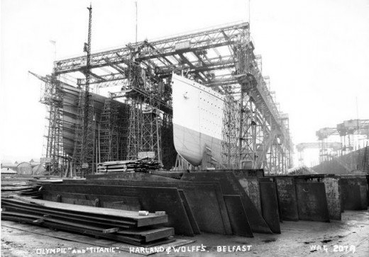 """Фотолетопись строительства """"Титаника"""". (Фото 8)"""