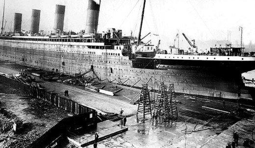 """Фотолетопись строительства """"Титаника"""". (Фото 24)"""