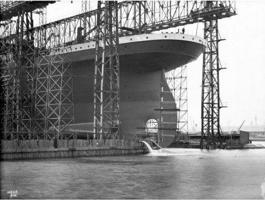 """Фотолетопись строительства """"Титаника"""". (Фото 10)"""