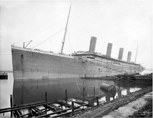 """Фотолетопись строительства """"Титаника"""". (Фото 28)"""