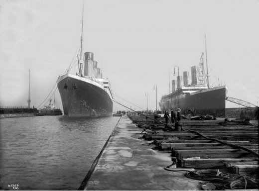 """Фотолетопись строительства """"Титаника"""". (Фото 30)"""