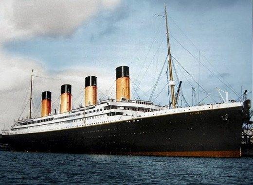 """Фотолетопись строительства """"Титаника""""."""