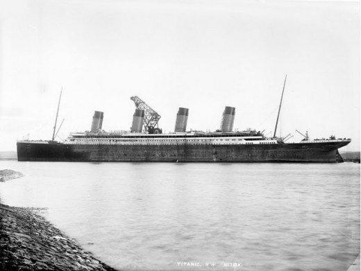 """Фотолетопись строительства """"Титаника"""". (Фото 27)"""