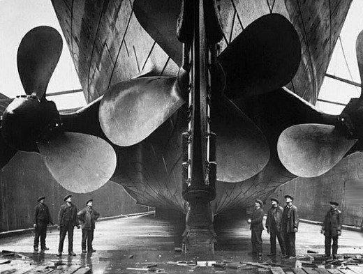 """Фотолетопись строительства """"Титаника"""". (Фото 18)"""