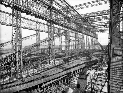 """Фотолетопись строительства """"Титаника"""". (Фото 5)"""