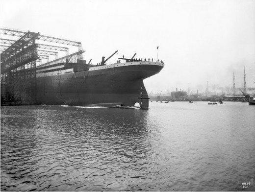 """Фотолетопись строительства """"Титаника"""". (Фото 20)"""