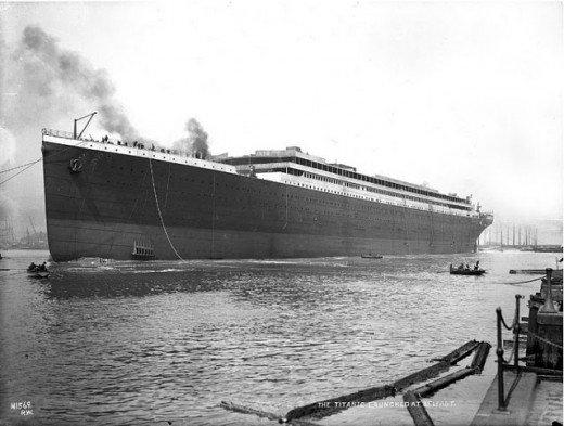 """Фотолетопись строительства """"Титаника"""". (Фото 21)"""