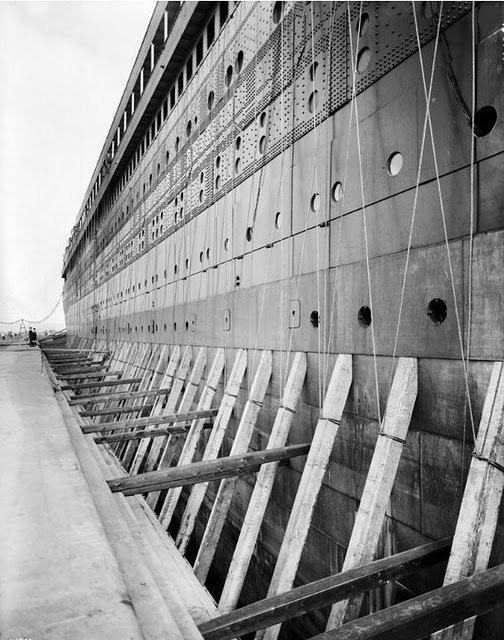 """Фотолетопись строительства """"Титаника"""". (Фото 25)"""