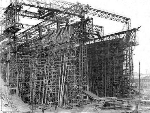 """Фотолетопись строительства """"Титаника"""". (Фото 6)"""