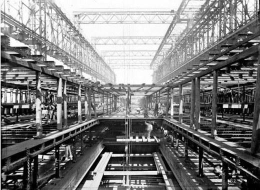 """Фотолетопись строительства """"Титаника"""". (Фото 7)"""