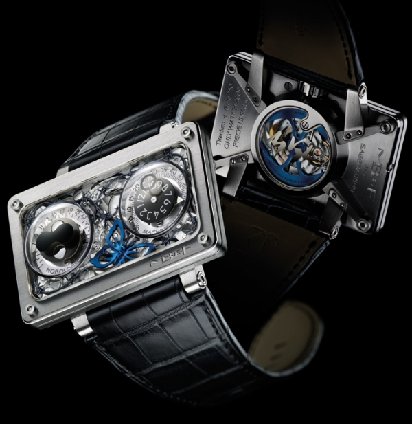 Maximilian Büsser и его часы . (Фото 27)