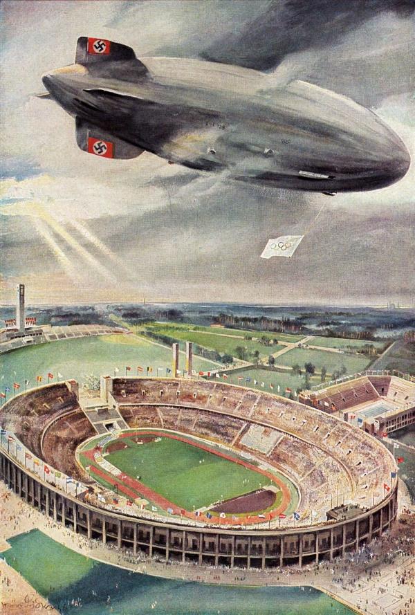 """Hindenburg (LZ-129) Часть 1 - """"политическая"""". (Фото 11)"""