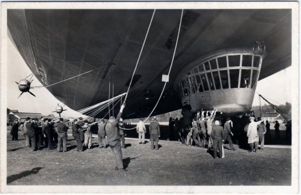 """Hindenburg (LZ-129) Часть 1 - """"политическая"""". (Фото 16)"""