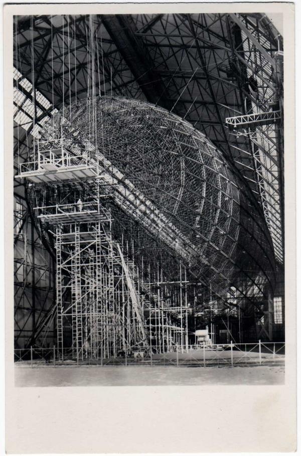 """Hindenburg (LZ-129) Часть 1 - """"политическая"""". (Фото 4)"""