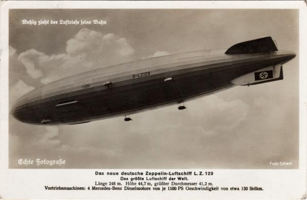 """Hindenburg (LZ-129) Часть 1 - """"политическая""""."""