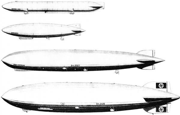 """Hindenburg (LZ-129) Часть 1 - """"политическая"""". (Фото 2)"""
