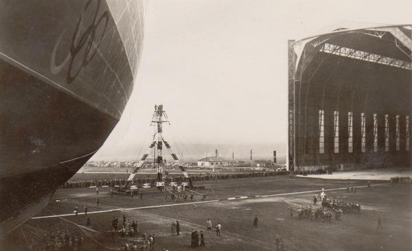 """Hindenburg (LZ-129) Часть 1 - """"политическая"""". (Фото 13)"""