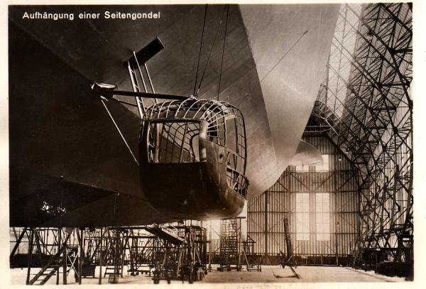 Hindenburg (LZ-129) Часть 2- техническая. (Фото 16)