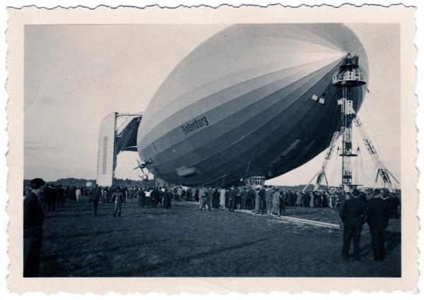 Hindenburg (LZ-129) Часть 2- техническая.