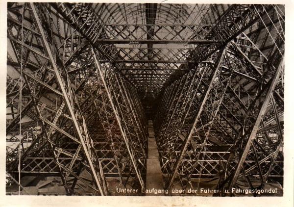 Hindenburg (LZ-129) Часть 2- техническая. (Фото 7)