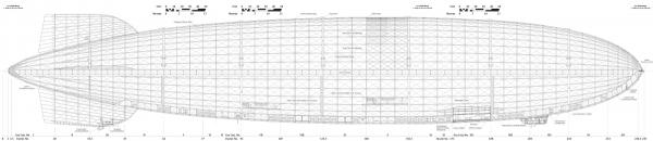 Hindenburg (LZ-129) Часть 2- техническая. (Фото 2)