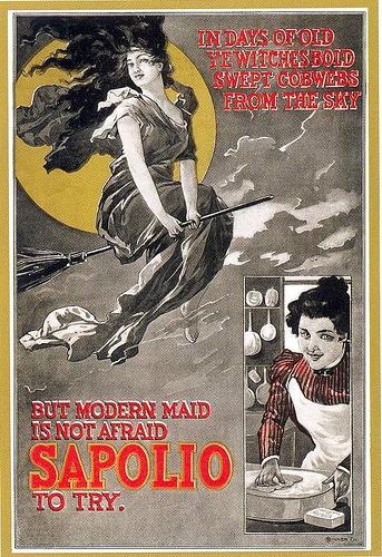 Рекламные открытки на рубеже веков . (Фото 52)