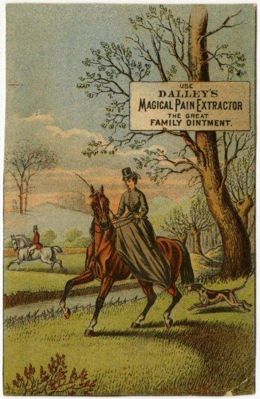 Рекламные открытки на рубеже веков . (Фото 35)